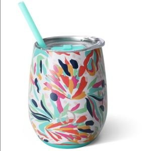 Swig tumbler with straw. Brand new with tags!